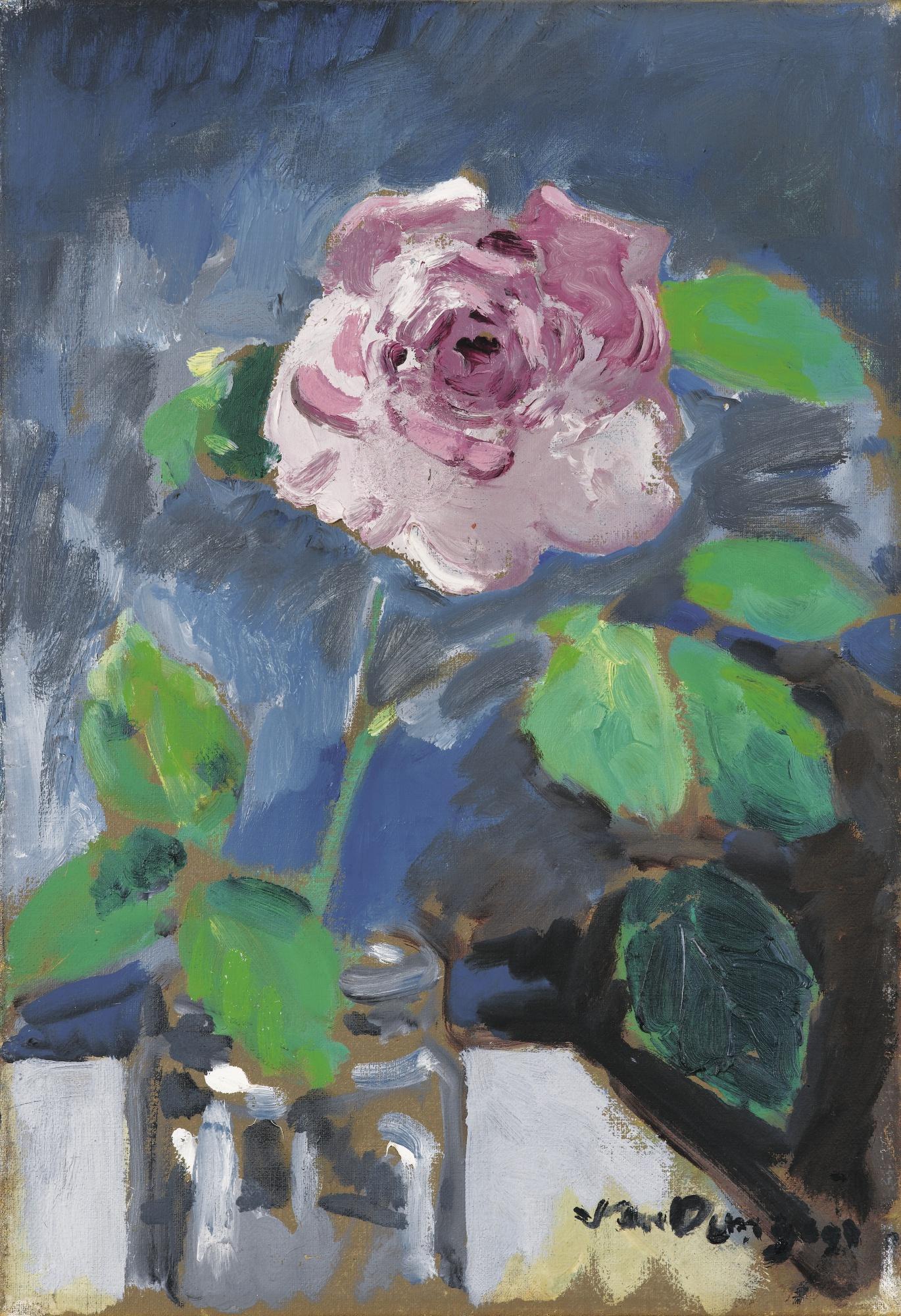 Kees van Dongen-Rose-