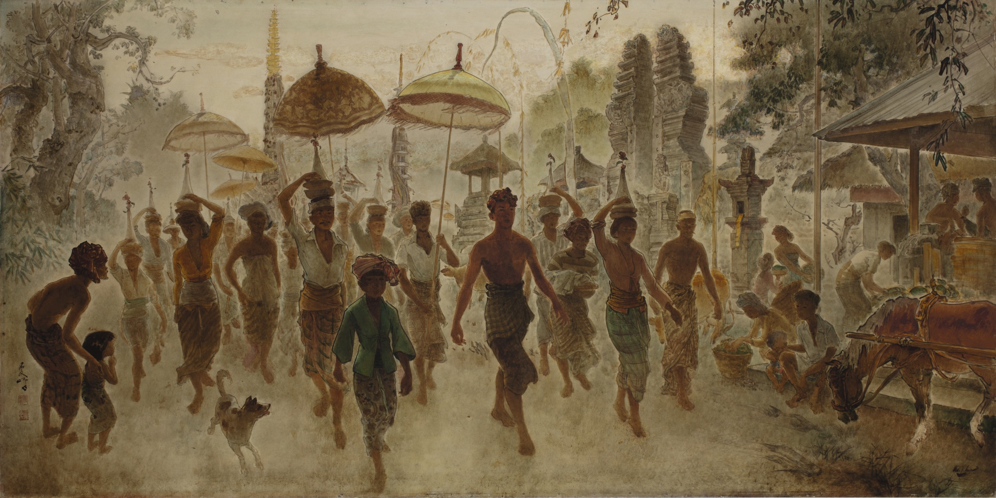 Lee Man Fong-Balinese Procession-