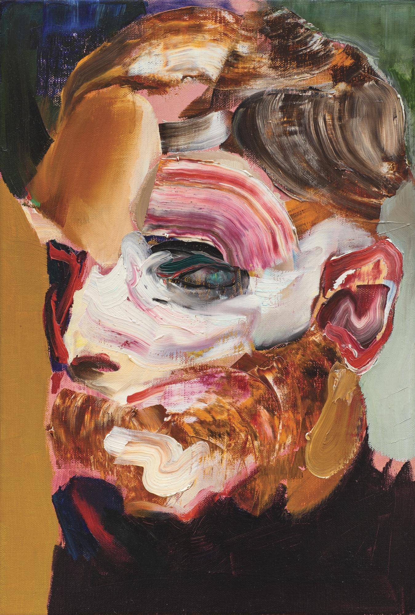 Adrian Ghenie-Self-Portrait In 1945-2015