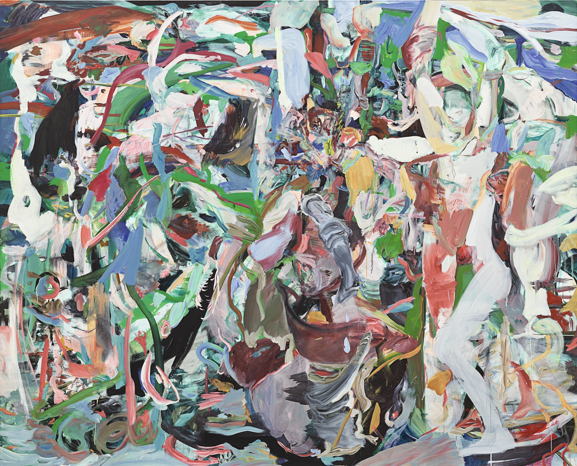 Cecily Brown-The Nymphs Have Departed-2014