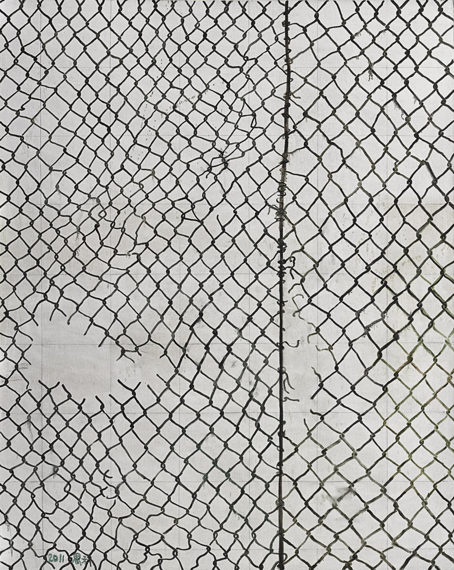 Zhang Enli-Wire Netting No. 4-2011