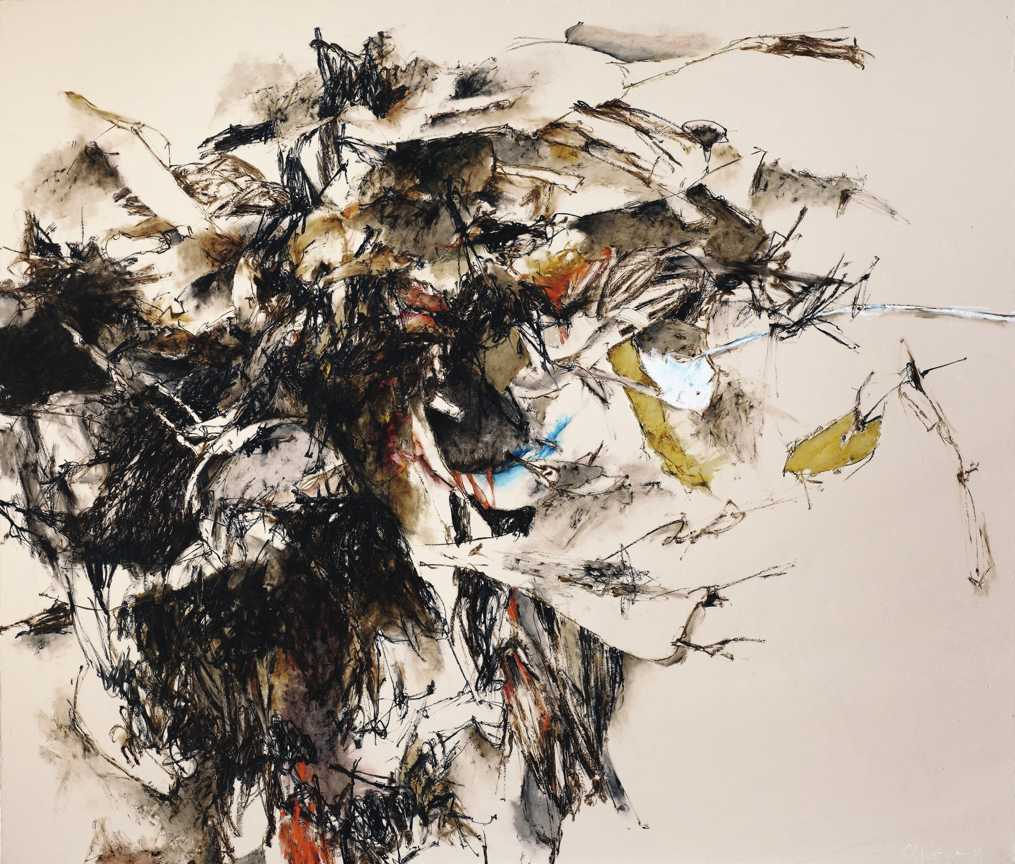 Christine Ay Tjoe-Black And The Small White-2014