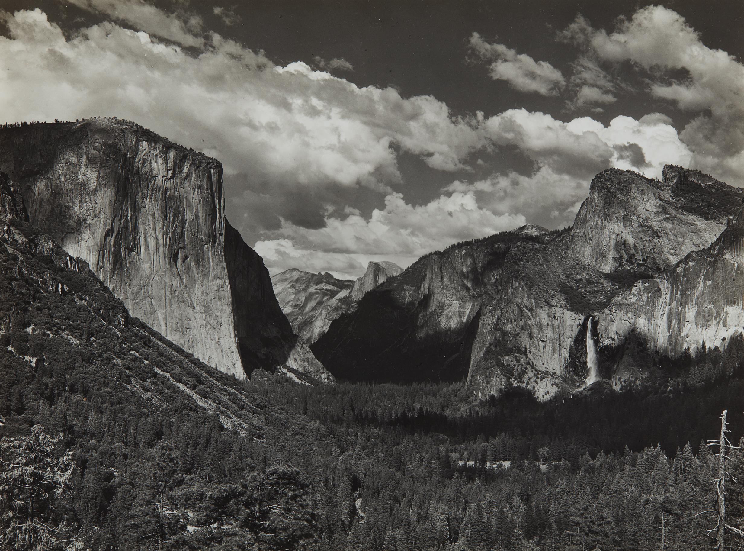 Ansel Adams-Yosemite Valley-1935