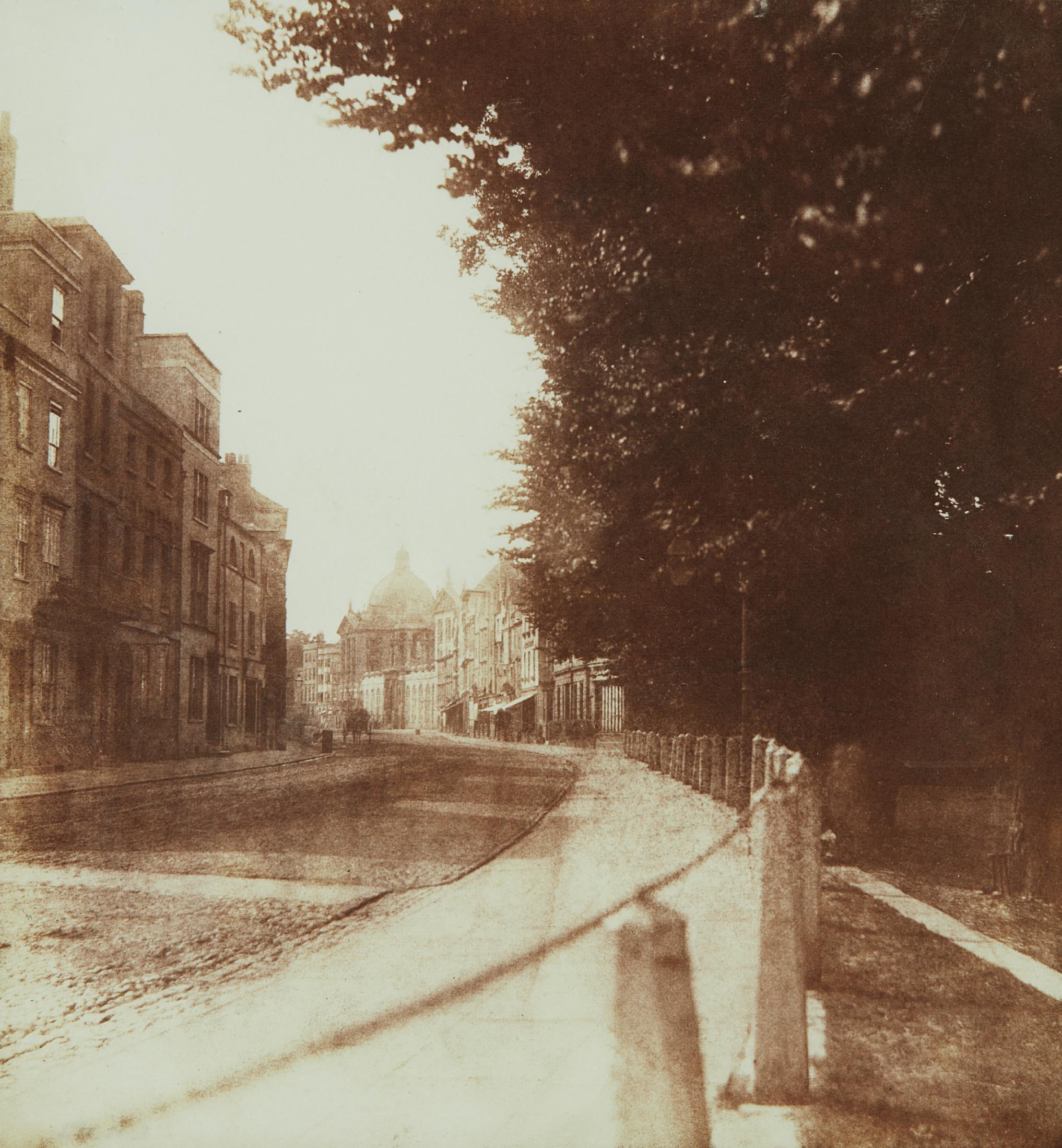 William Henry Fox Talbot-Oxford High Street-1843