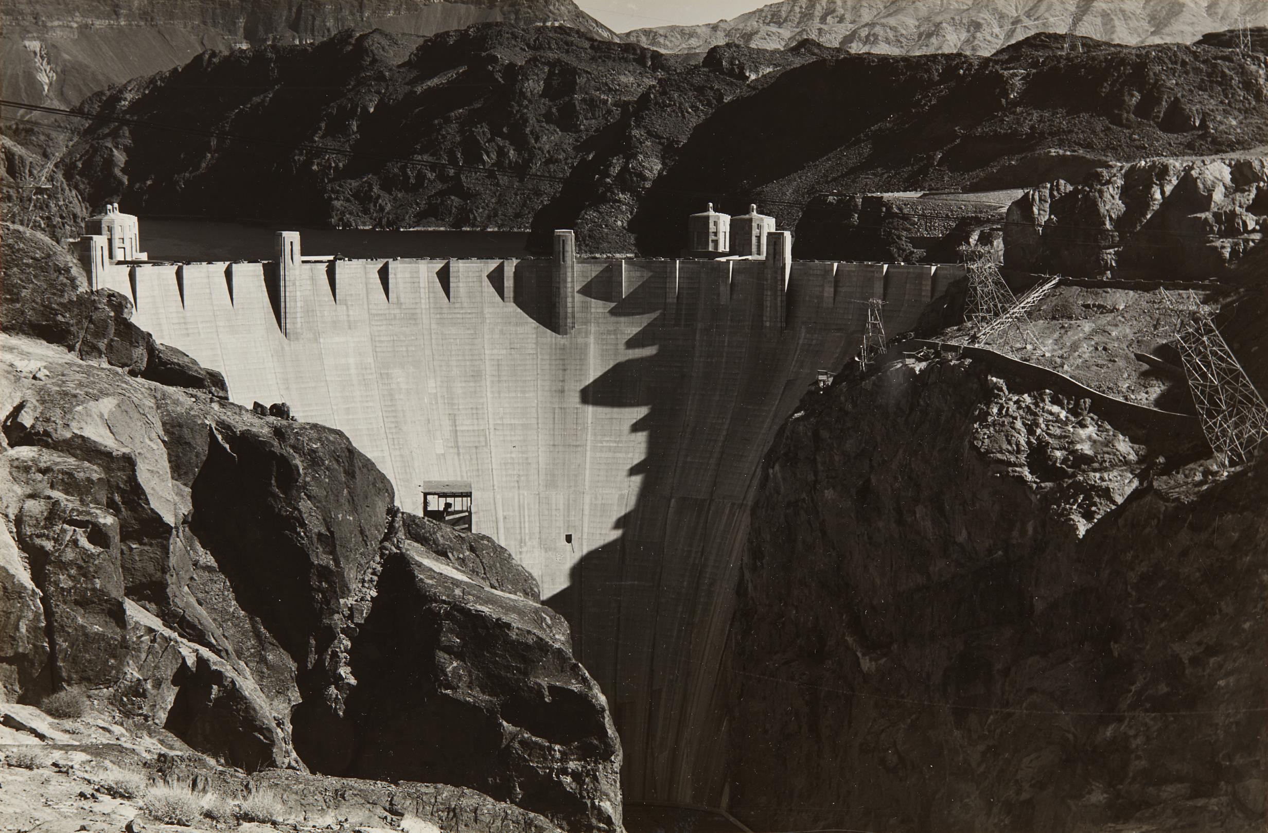 Charles Sheeler-Boulder Dam-1939