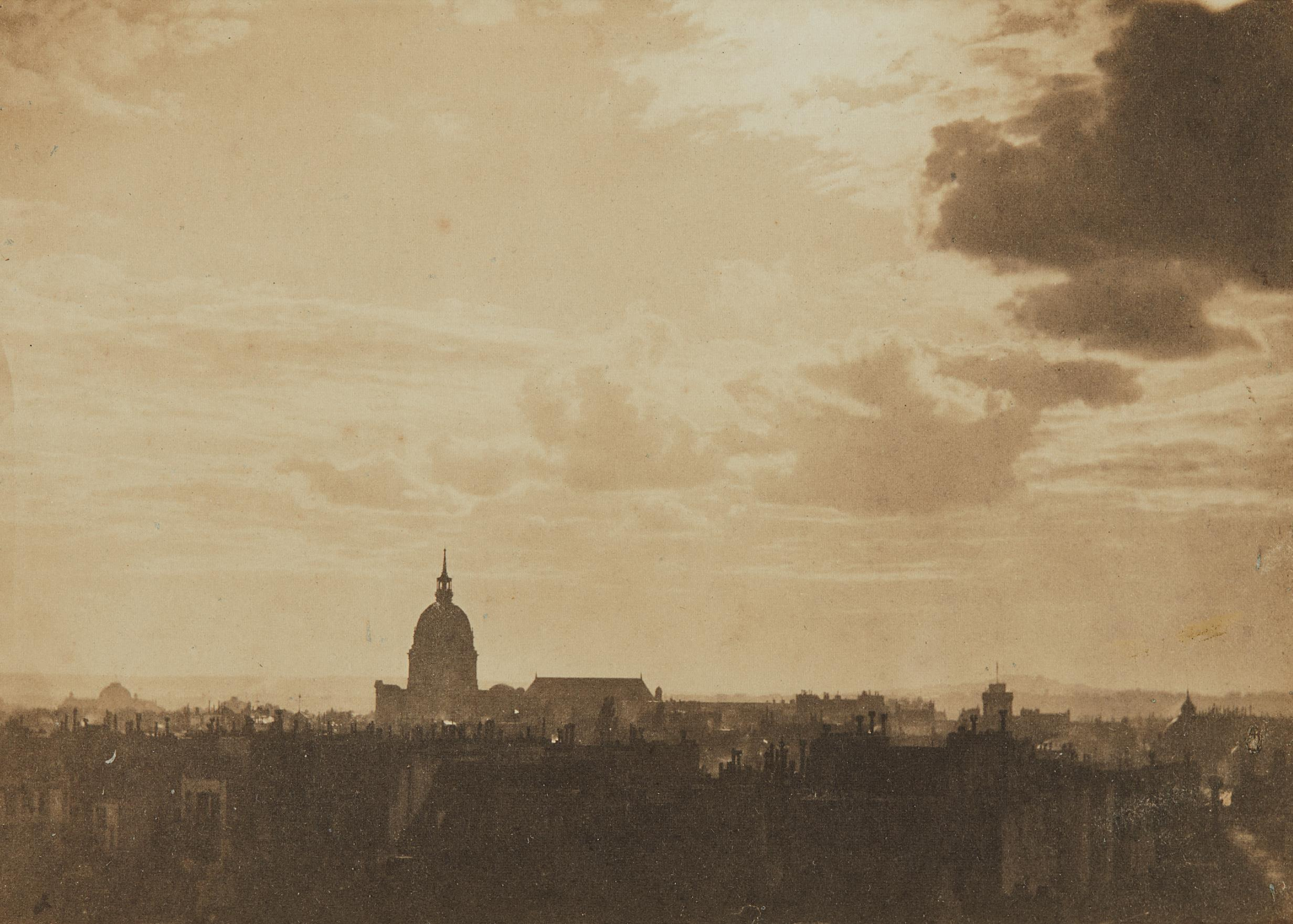 Charles Marville-Sky Study, Paris-1857