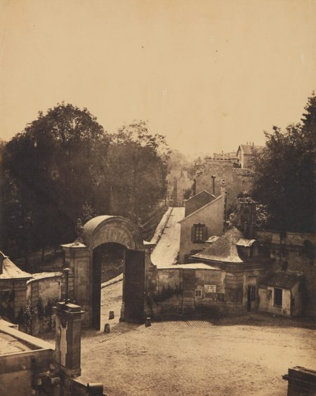 Henri Victor Regnault-Sevres et ses environs, Manufacture, Porte orientale et cours d'Honneur-1852