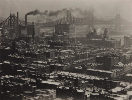 Alfred Stieglitz-From 'Room 3003' - The Shelton, New York, Looking Northeast-1927