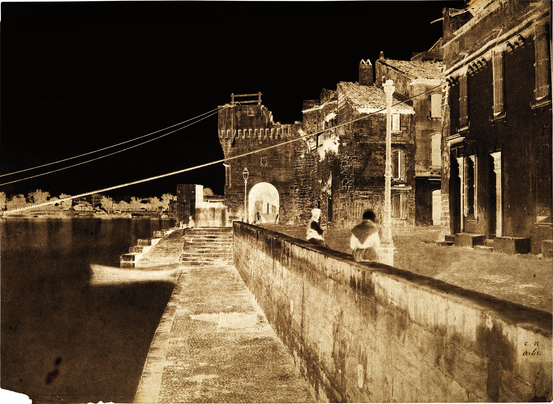 Charles Negre-Arles, Porte des Chataignes-1852