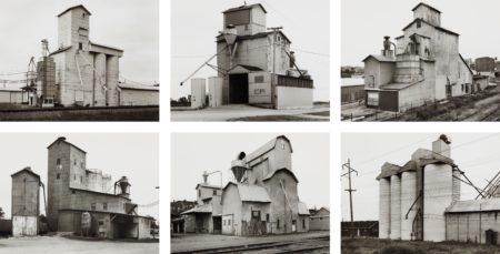 Bernd and Hilla Becher-Grain Elevators-1986