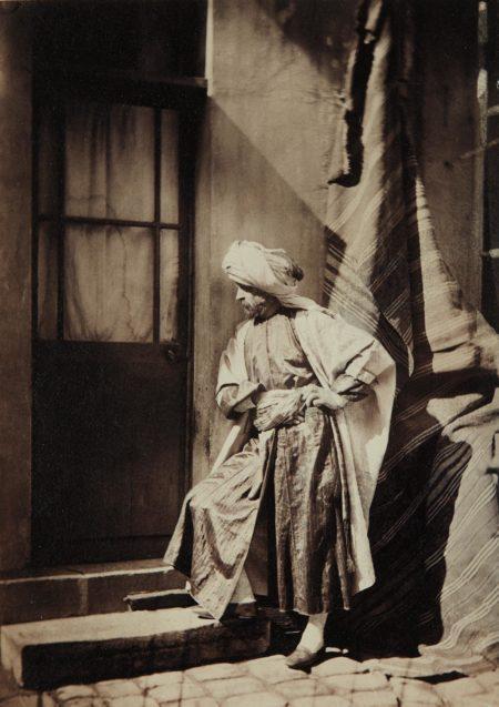 Charles Negre-Self-Portrait in Orientalist Costume-1860