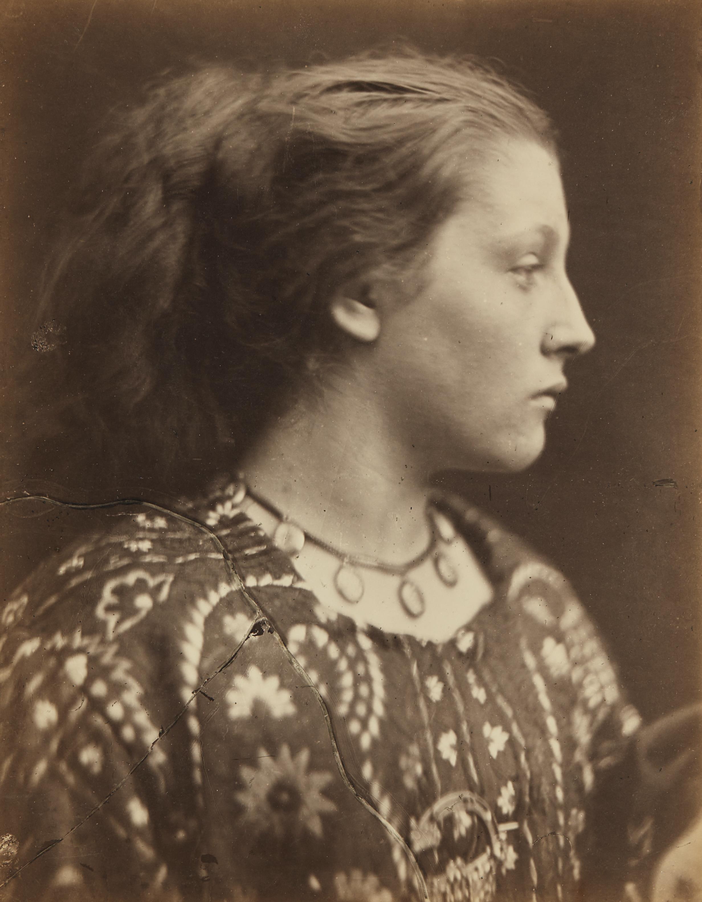 Julia Margaret Cameron-Sappho (Mary Hillier)-1865
