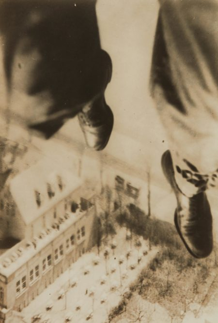 Willi Ruge-Berlin Fallschirmspringer from I Photograph Myself During a Parachute Jump-1931