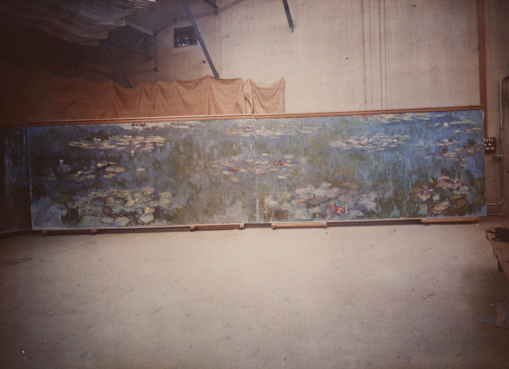 Etienne Clementel - Les Nympheas dans l'Atelier-1920