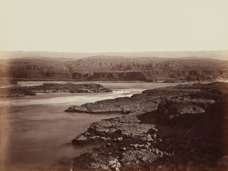 Carleton Watkins-The Passage of the Dalles, Columbia River-1867