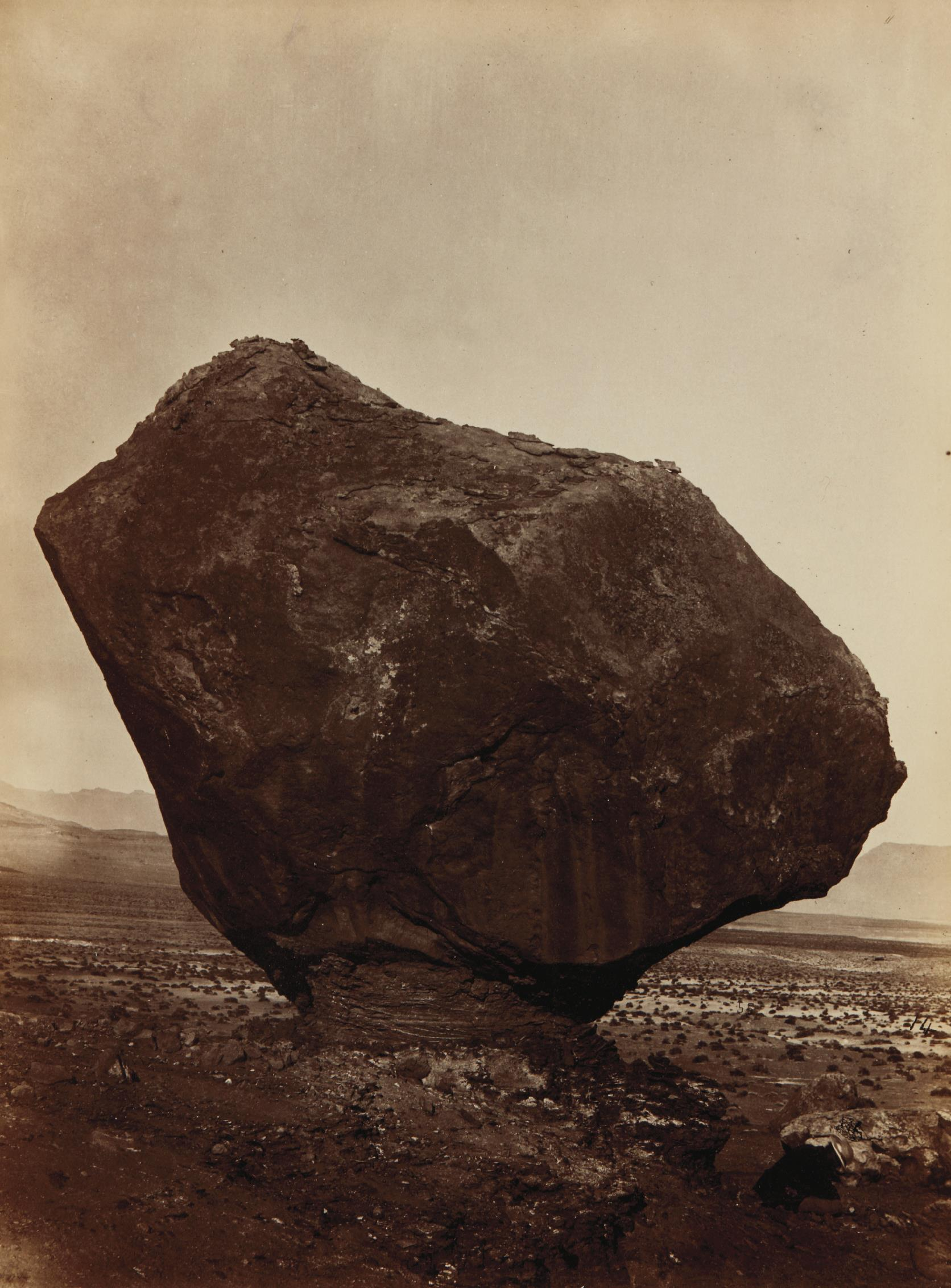 William Bell-Perched Rock, Rocker Creek, Arizona-1872