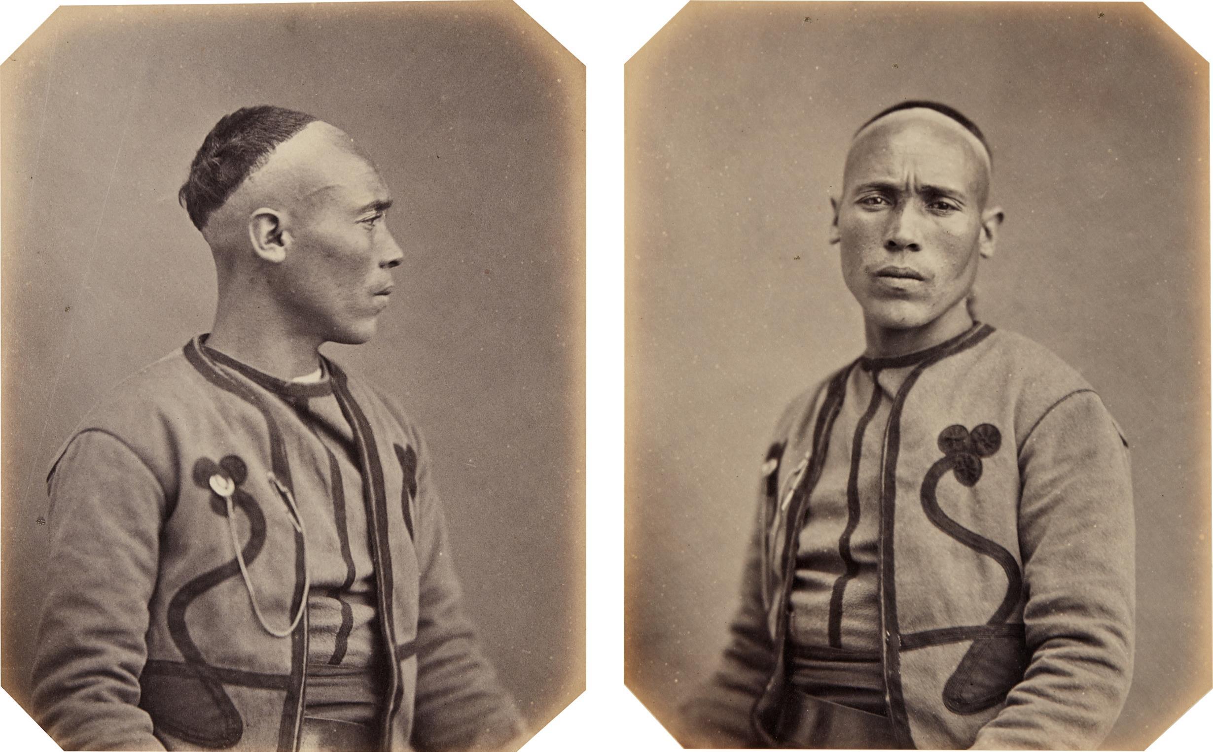Jacques Phillipe Potteau-Selected Portraits of Algerian Diplomats-1863