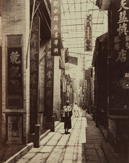 John Thomson-Physic Street, Canton-1869