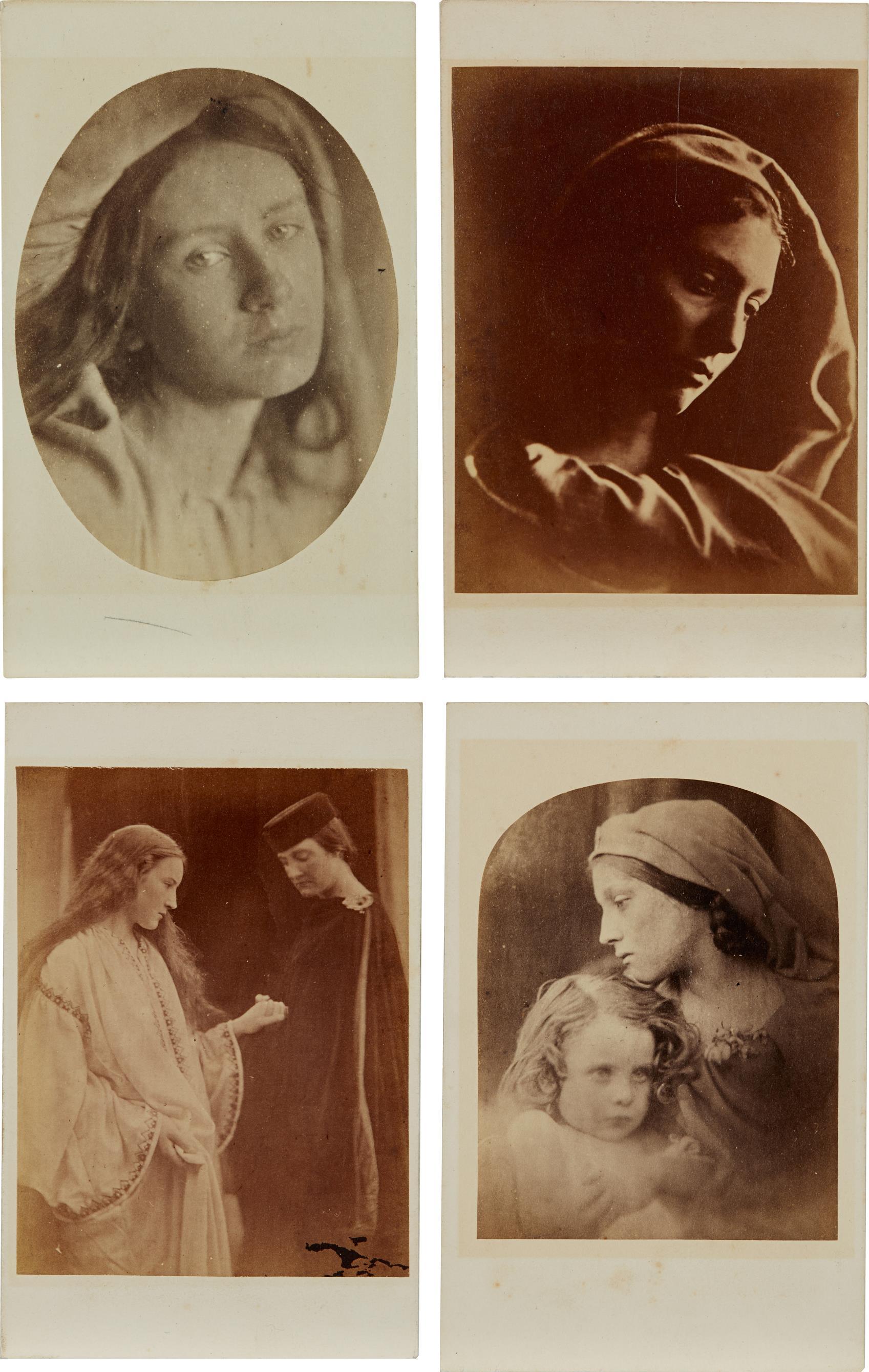 Julia Margaret Cameron-Selected Cartes de Visite-1868