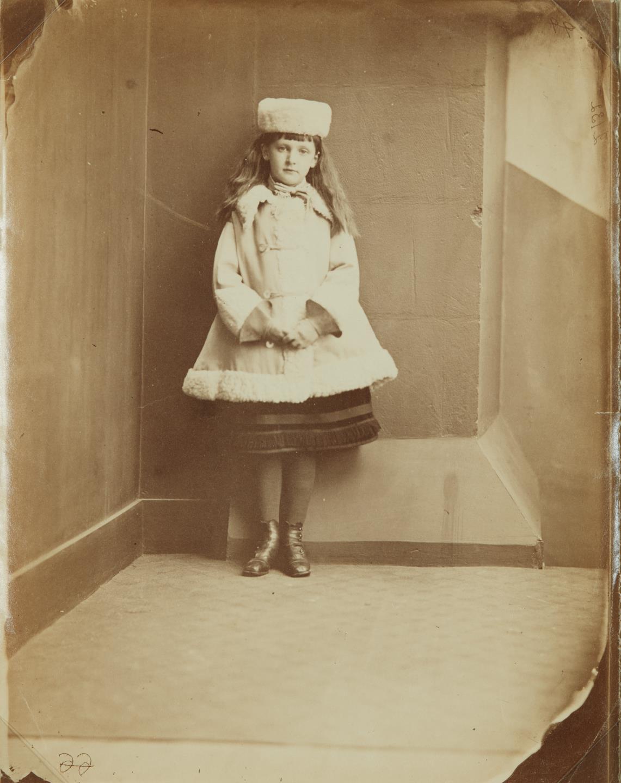 "Lewis Carroll-Xie (Alexandra) Kitchin as a ""Dane""-1876"