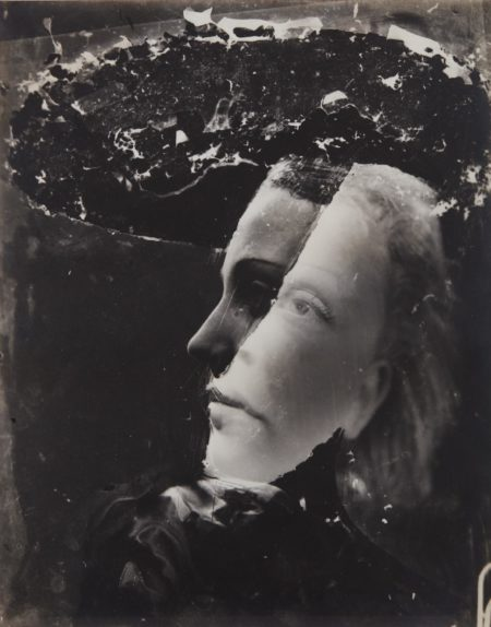 Dora Maar-Untitled (double-exposed self-portrait)-1936