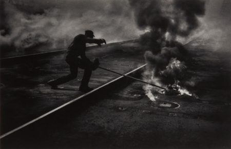 W. Eugene Smith-Dance of the Flaming Coke, Pittsburgh-1955
