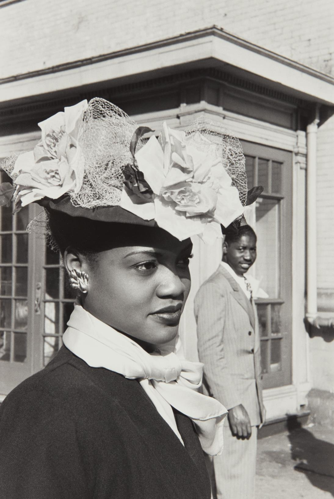 Henri Cartier-Bresson-Easter Sunday in Harlem-1947