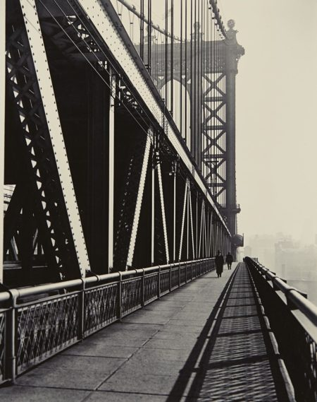 Berenice Abbott-Manhattan Bridge, Manhattan-1936