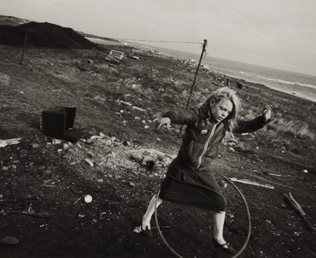 Chris Killip-Girl with Hoop-1989