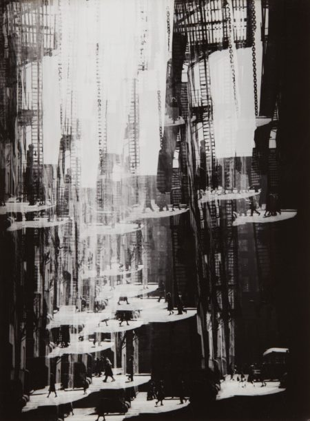 Harry Callahan-Alley, Chicago-1948