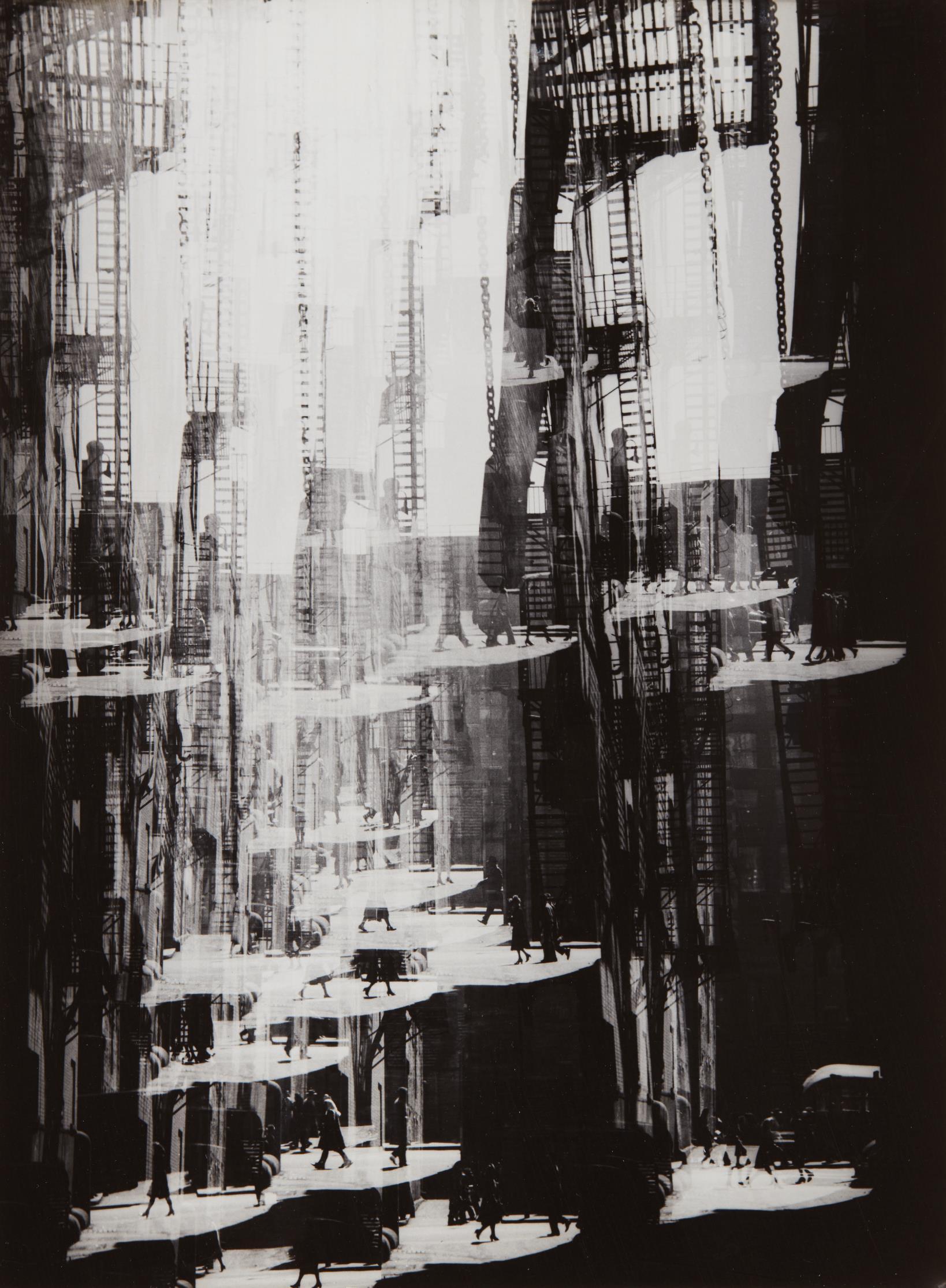 Harry Callahan-Alley, Chicago-1948