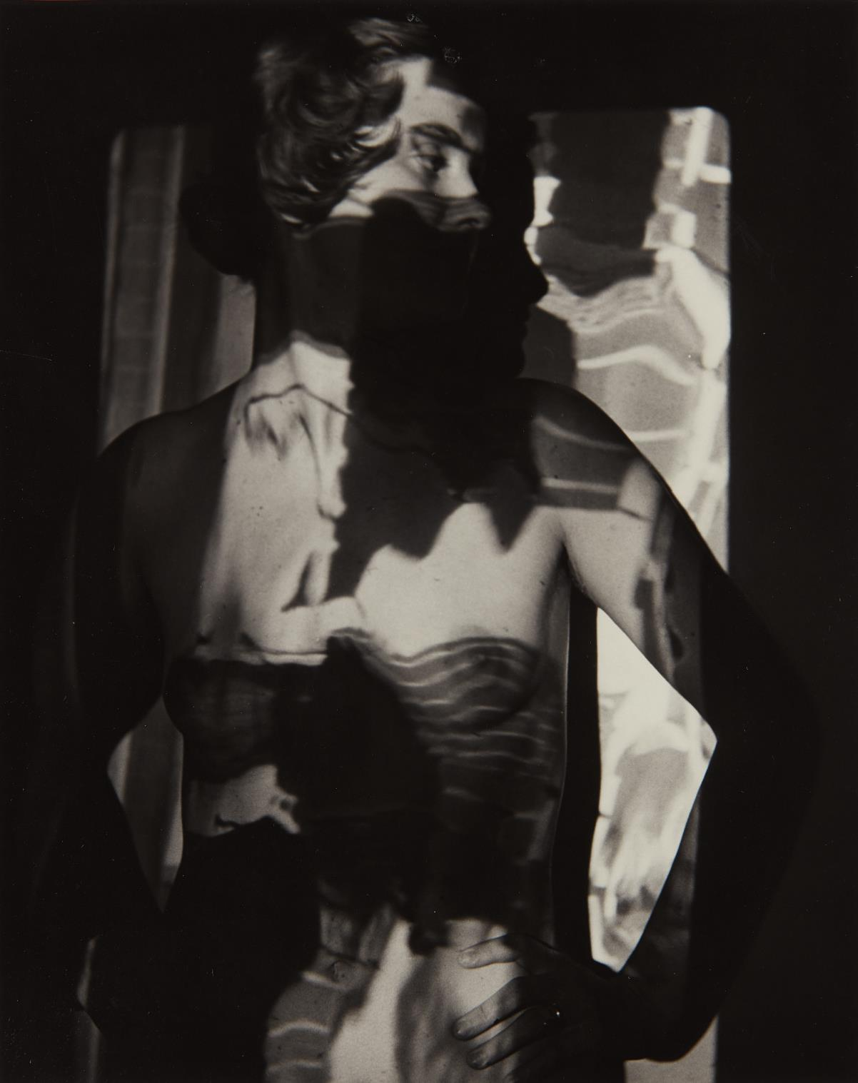 Arthur Siegel-Untitled (Barbara Siegel)-1947
