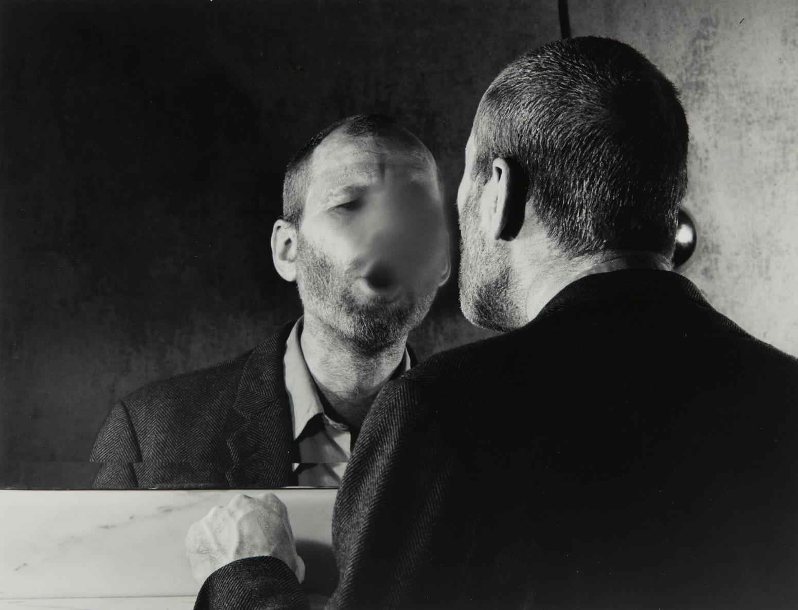 Dieter Appelt-Der Fleck auf dem Spiegel den der Atemhauch Schafft (The Mark on the Mirror Made by Breathing)-1977