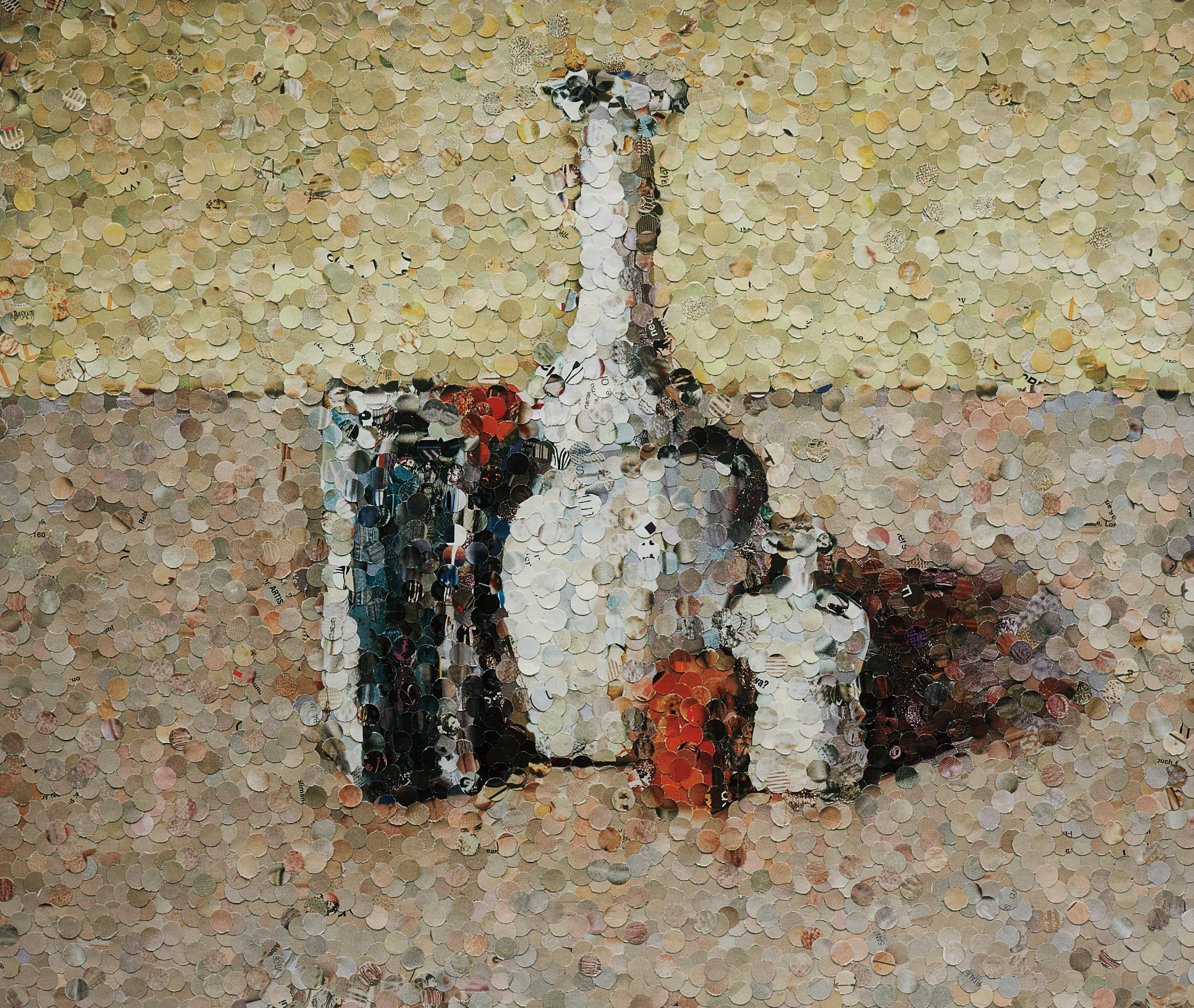 Vik Muniz-Still Life after Morandi from Pictures of Magazines-2004