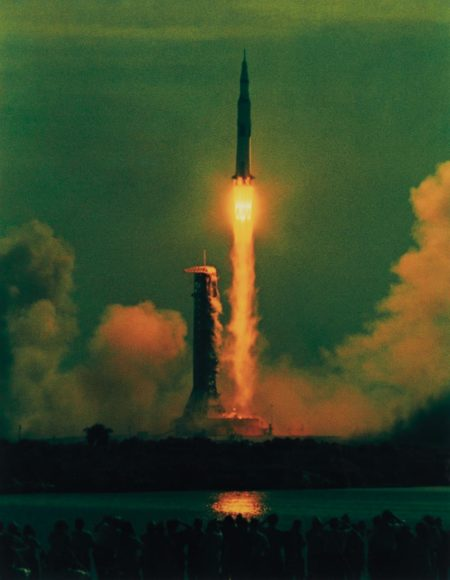 Hiro-Apollo 11, 9:32 AM, 7-16-69, Maiden Voyage to the Moon-1969