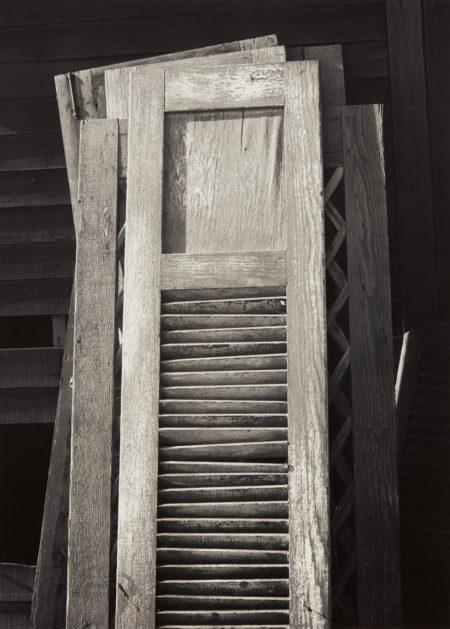 Ansel Adams-Old Doors, Columbia Farm, Los Angeles-1940