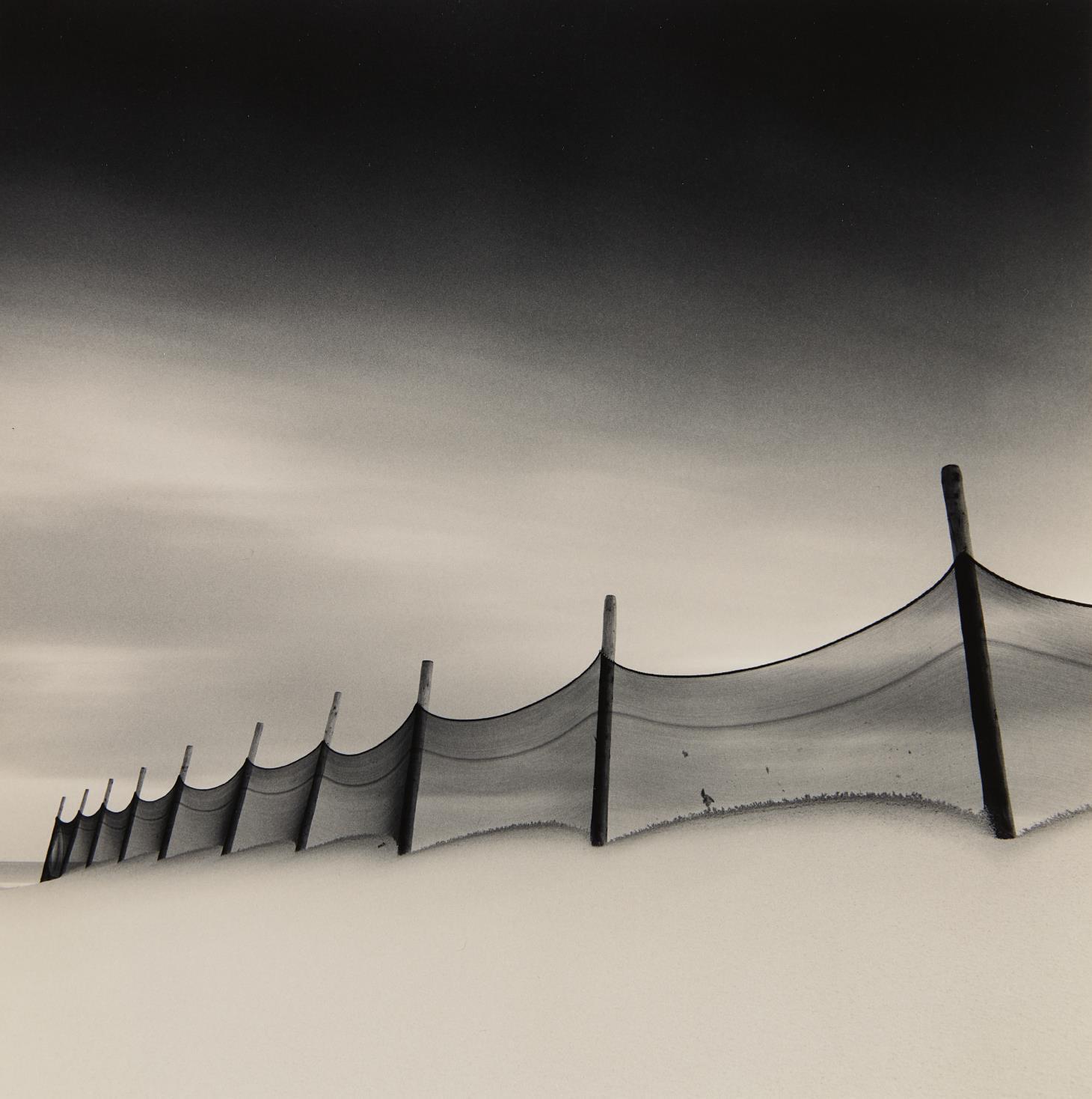 Michael Kenna-Wind-Swept Beach, Calais, France-1999