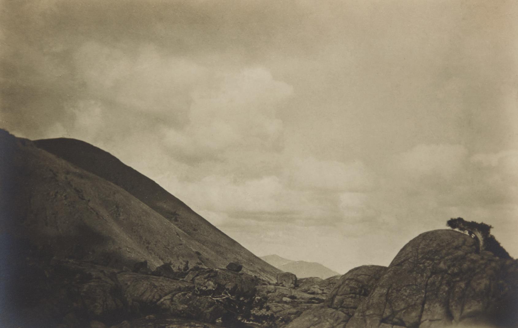 Anne Brigman-Sierran Landscape-1927