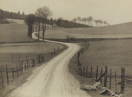 Albert Renger-Patzsch-Untitled (country road)-1930