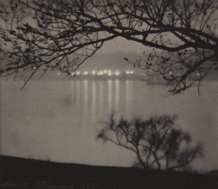 Karl Struss-Riverside Drive from Across the Hudson-1911
