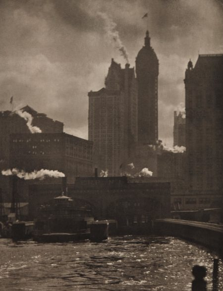 Alfred Stieglitz-The City of Ambition-1910