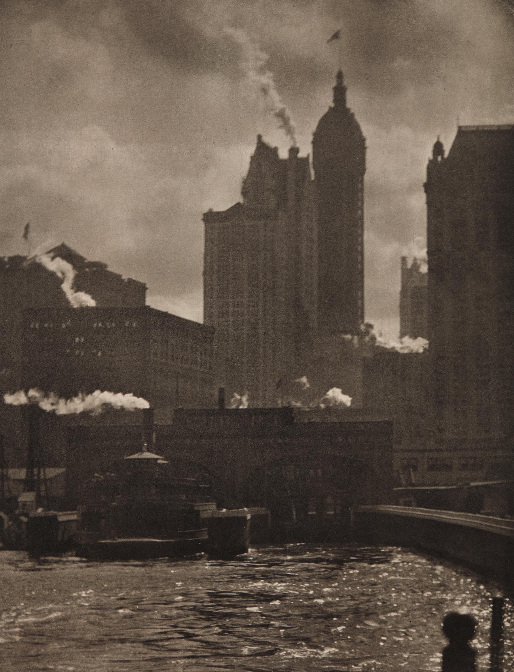 Alfred Stieglitz-The City of Ambition-1910