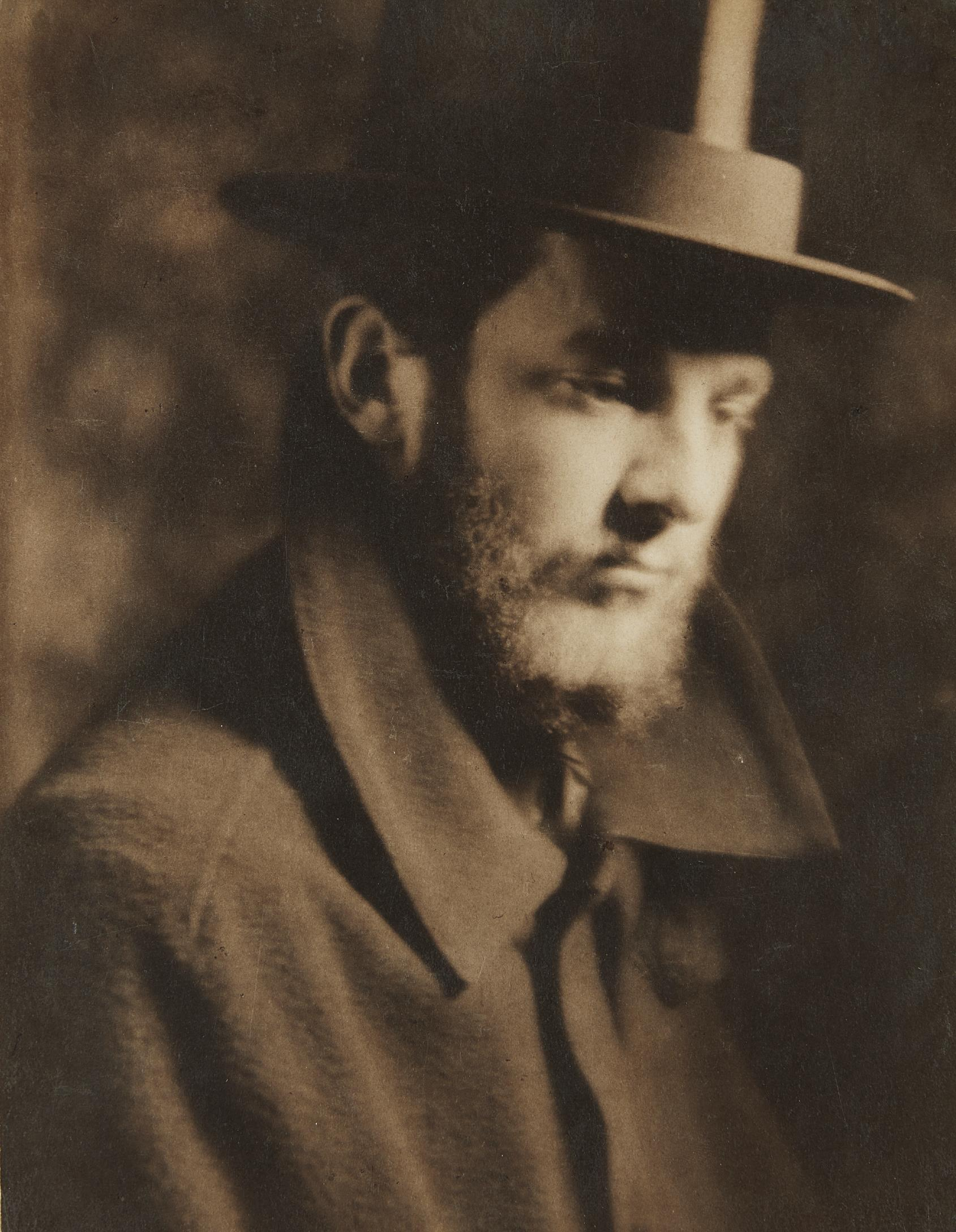 Alvin Langdon Coburn-Self Portrait-1905