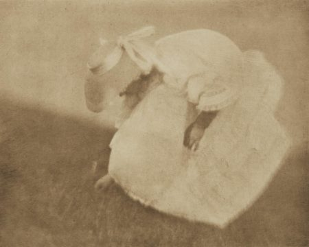 Heinrich Kuhn-On The Hillside (A Study Of Values)-1910