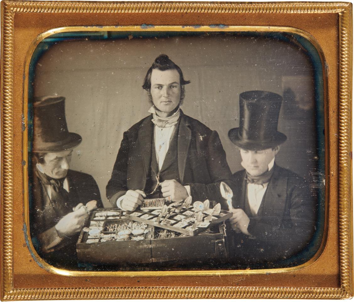 Unknown Photographer - The Silver Merchants-1850