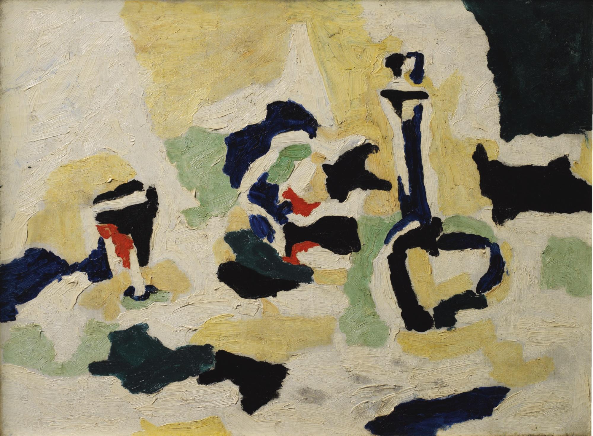 Takeo Yamaguchi-Hari (Glass)-1933