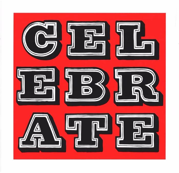 Ben Eine-Celebrate - Vandal-2016