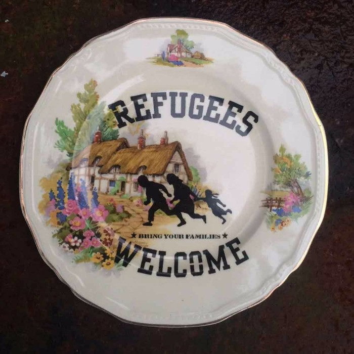 Carrie Reichardt-Refugees Welcome-