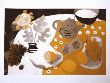 Mary Fedden-The Grey Teapot-
