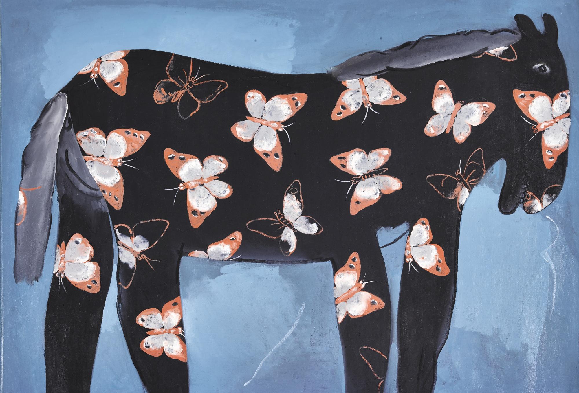 Li Shan-Rouge Horse-1996